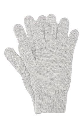 Детские перчатки feia CANOE светло-серого цвета, арт. 6800872.14 | Фото 1