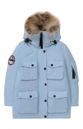 Пуховая куртка Umka | Фото №1