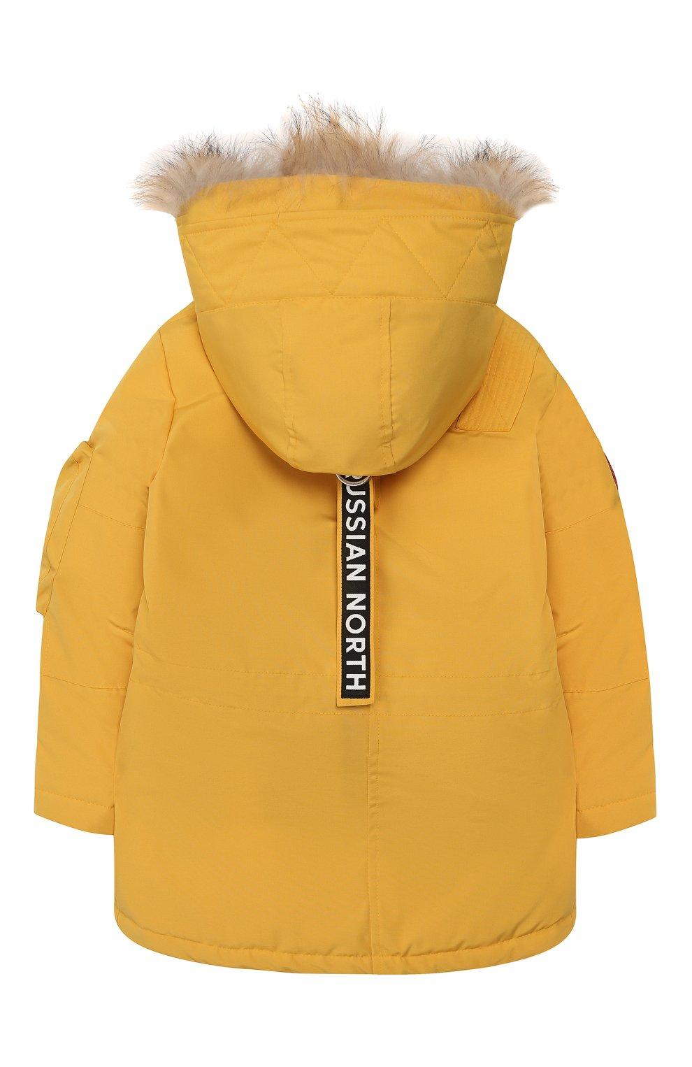 Пуховая куртка Umka | Фото №2