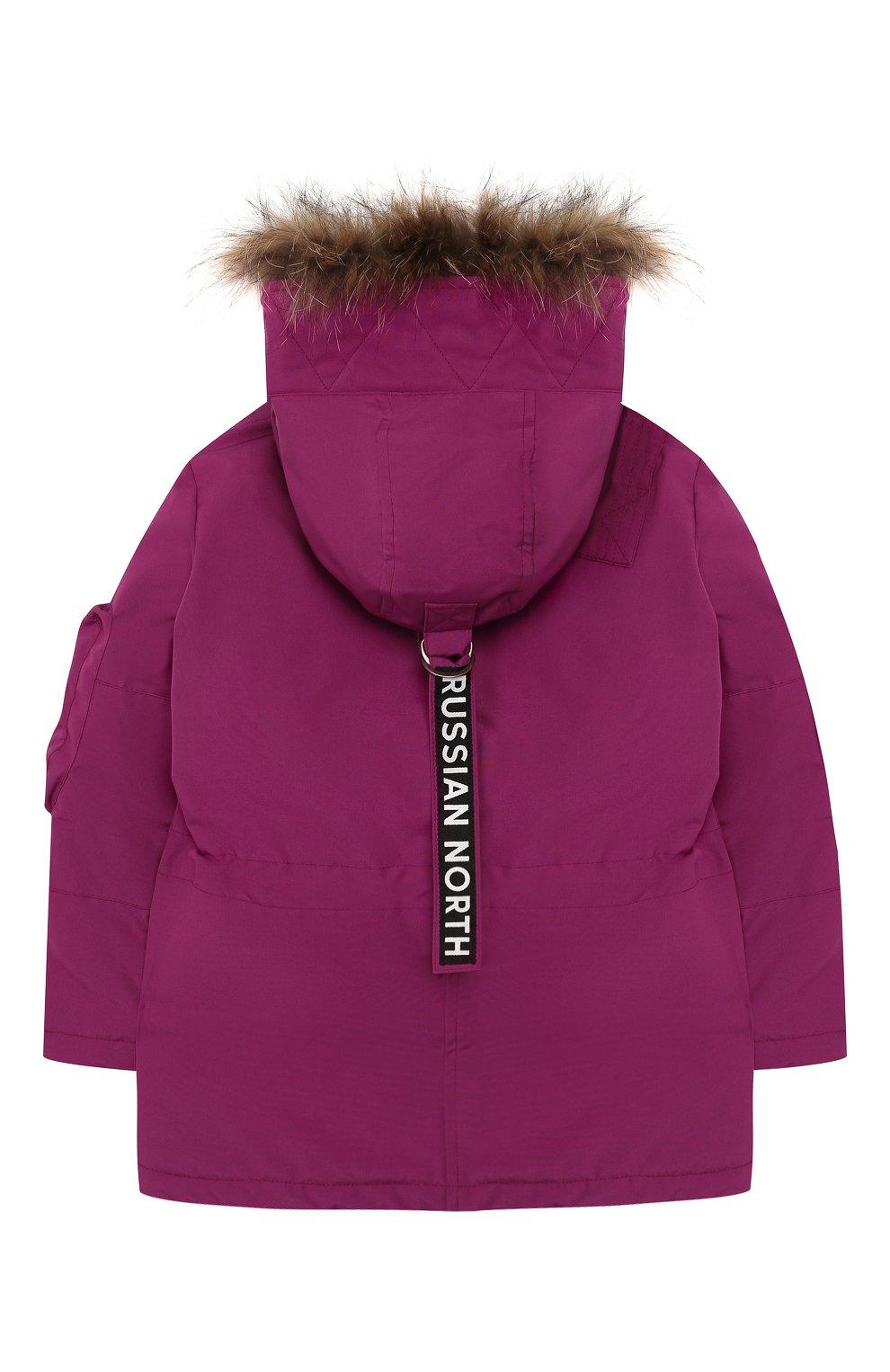 Детского пуховая куртка umka ARCTIC EXPLORER фуксия цвета, арт. UMKA_PNK | Фото 2