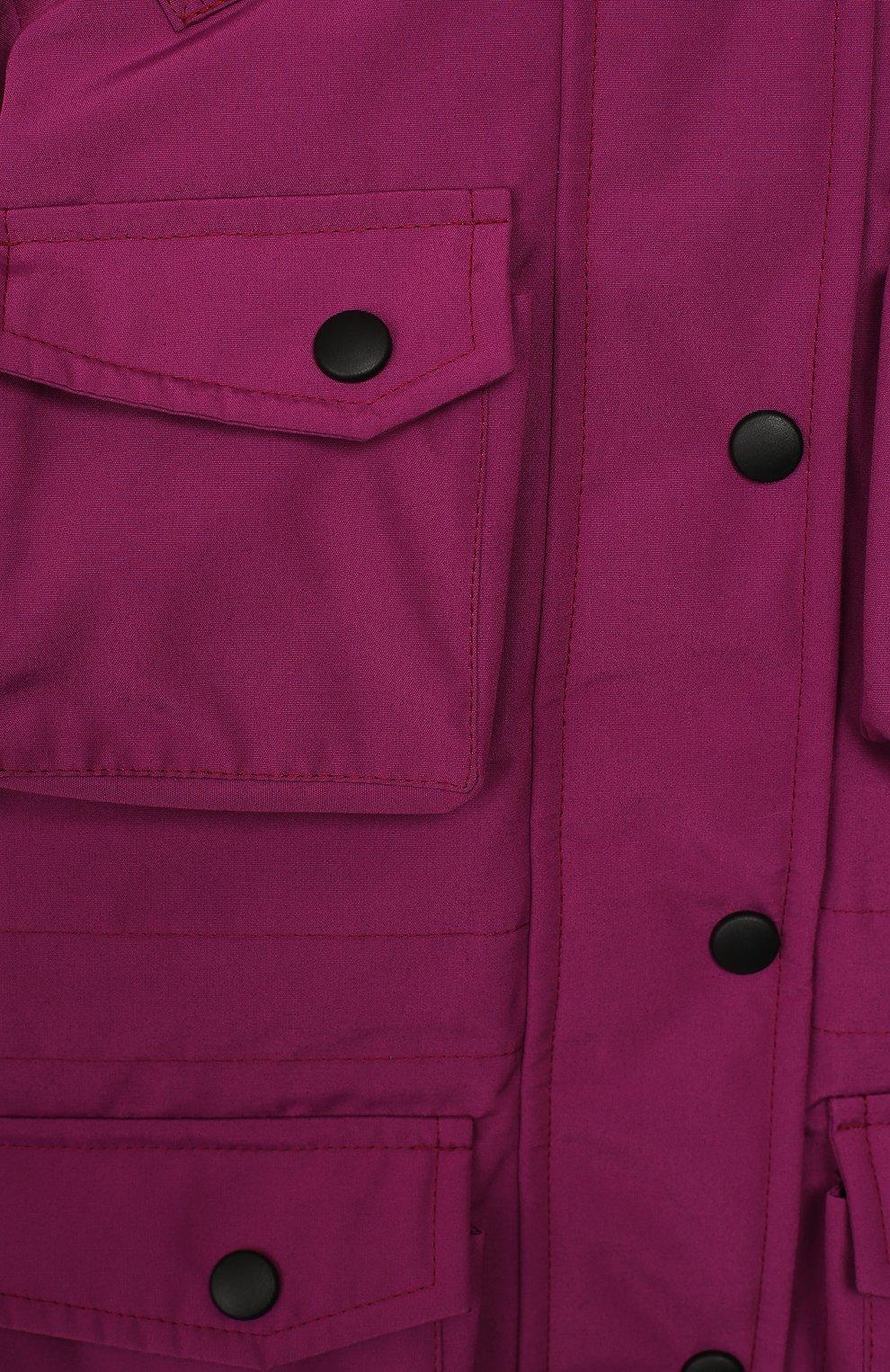 Детского пуховая куртка umka ARCTIC EXPLORER фуксия цвета, арт. UMKA_PNK | Фото 3