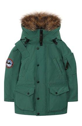 Пуховая куртка Mirok | Фото №1