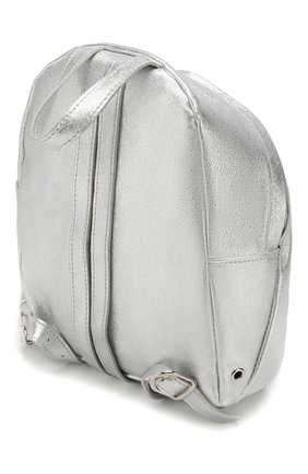 Детская рюкзак MONNALISA серебряного цвета, арт. 175004 | Фото 2