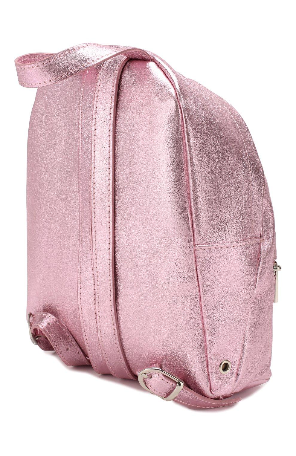 Детская рюкзак MONNALISA розового цвета, арт. 175004   Фото 2