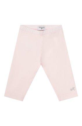 Детские леггинсы MONNALISA розового цвета, арт. 375LEG | Фото 1