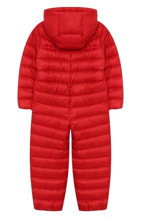 Детский пуховый комбинезон MONCLER красного цвета, арт. F1-951-1G500-00-C0401/12M-3A | Фото 2