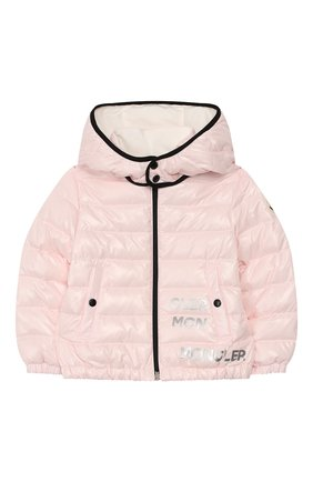 Детский комплект из куртки и комбинезона MONCLER розового цвета, арт. F1-951-1F500-00-68950/3M-18M | Фото 2