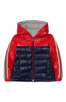 Детского пуховая куртка MONCLER красного цвета, арт. F1-951-1A500-20-68950 | Фото 1