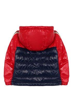 Детского пуховая куртка MONCLER красного цвета, арт. F1-951-1A500-20-68950 | Фото 2