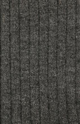 Детские кашемировые носки BRUNELLO CUCINELLI темно-серого цвета, арт. BCS42741C | Фото 2