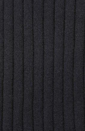 Детские кашемировые носки BRUNELLO CUCINELLI темно-синего цвета, арт. BCS42741B | Фото 2