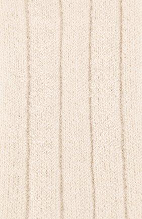 Детские кашемировые носки BRUNELLO CUCINELLI темно-серого цвета, арт. BCS42741A | Фото 2