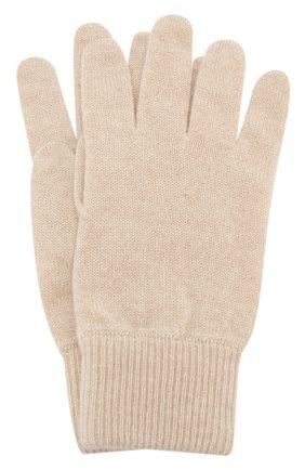 Детские кашемировые перчатки BRUNELLO CUCINELLI бежевого цвета, арт. B2292208B | Фото 1