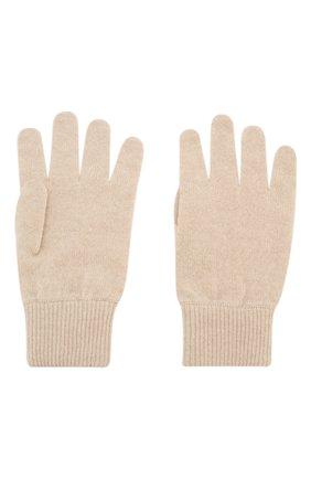 Детские кашемировые перчатки BRUNELLO CUCINELLI бежевого цвета, арт. B2292208B | Фото 2
