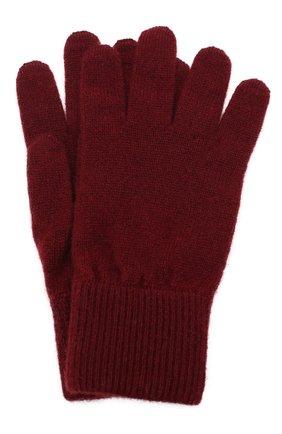 Детские кашемировые перчатки BRUNELLO CUCINELLI бордового цвета, арт. B2292208A | Фото 1