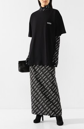 Женская хлопковая футболка star wars x vetements VETEMENTS черного цвета, арт. USW21TS003 1600/W | Фото 2