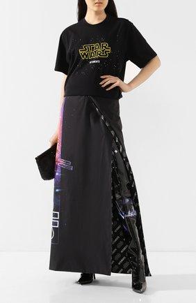 Хлопковая футболка Star Wars x Vetements | Фото №2