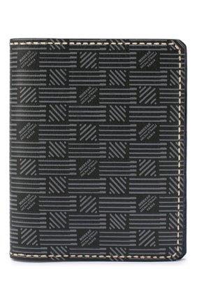Мужская кожаная обложка для паспорта MOREAU темно-серого цвета, арт. PW7C07I0V0STSTB | Фото 1