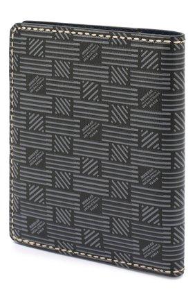 Мужская кожаная обложка для паспорта MOREAU темно-серого цвета, арт. PW7C07I0V0STSTB | Фото 2