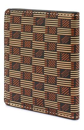 Мужская кожаная обложка для паспорта MOREAU коричневого цвета, арт. PW7C07I0V0STSTB | Фото 2