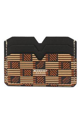 Мужской кожаный футляр для кредитных карт MOREAU коричневого цвета, арт. PW4C01BIV0CLSQB | Фото 1