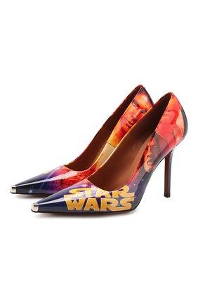 Кожаные туфли Star Wars x Vetements | Фото №1