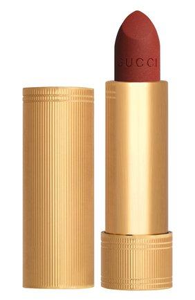 Женская матовая губная помада, оттенок 505 janet rust GUCCI бесцветного цвета, арт. 3614229374827 | Фото 1
