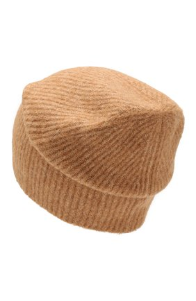 Женский шерстяная шапка grace BALMUIR бежевого цвета, арт. GRACE BEANIE/MELANGE | Фото 2