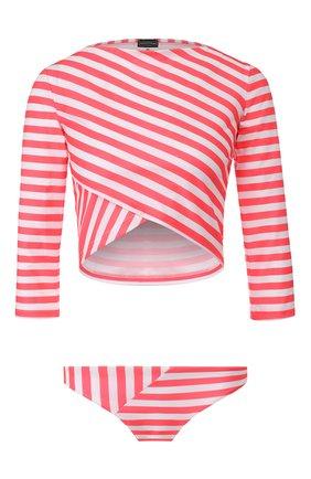 Женский раздельный купальник NATAYAKIM розового цвета, арт. NY-070/19 | Фото 1