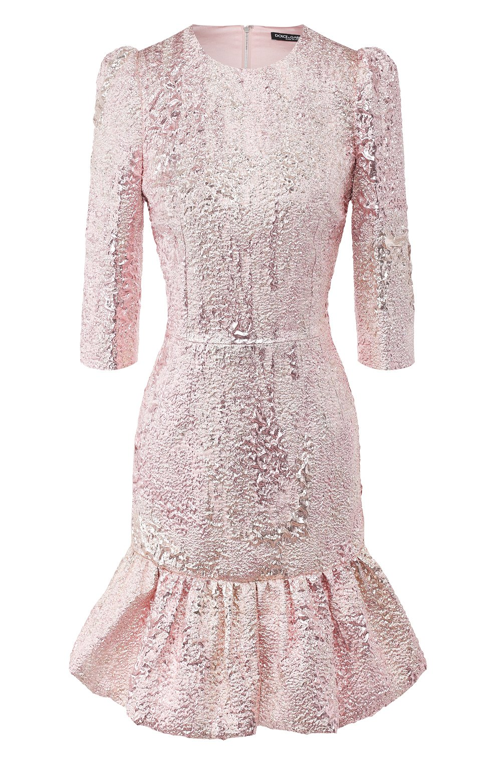 Женское платье DOLCE & GABBANA розового цвета, арт. F6H1DT/HJMJ0 | Фото 1