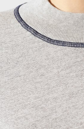 Женский свитшот MONROW серого цвета, арт. HT0830-1   Фото 5