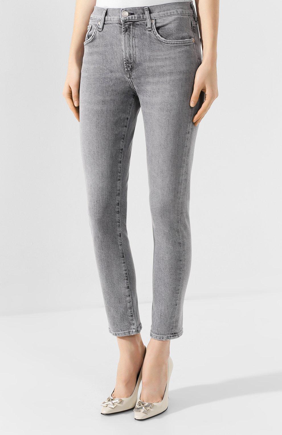 Женские джинсы AGOLDE серого цвета, арт. A133-1138 | Фото 3