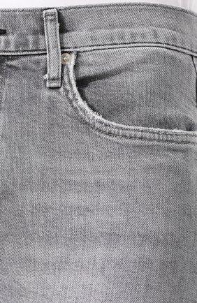 Женские джинсы AGOLDE серого цвета, арт. A133-1138 | Фото 5