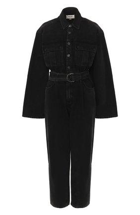 Женский джинсовый комбинезон AGOLDE серого цвета, арт. A8002-1157 | Фото 1