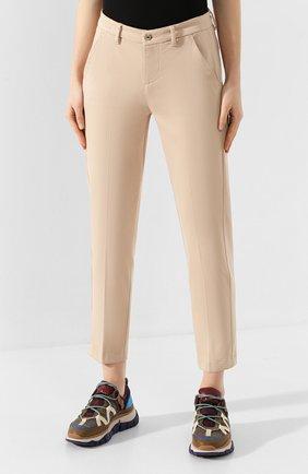 Женские брюки 7 FOR ALL MANKIND бежевого цвета, арт. JSL4V600BG | Фото 3