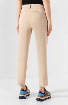 Женские брюки 7 FOR ALL MANKIND бежевого цвета, арт. JSL4V600BG | Фото 4