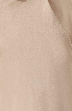 Женские брюки 7 FOR ALL MANKIND бежевого цвета, арт. JSL4V600BG | Фото 5