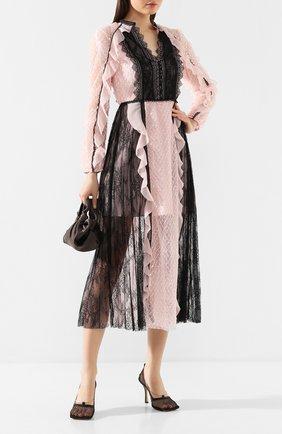 Женское платье-миди SELF-PORTRAIT разноцветного цвета, арт. RS20-152 | Фото 2