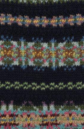 Детский шерстяной шарф POLO RALPH LAUREN темно-синего цвета, арт. 313751633 | Фото 2