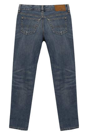 Детские джинсы POLO RALPH LAUREN синего цвета, арт. 313749601 | Фото 2