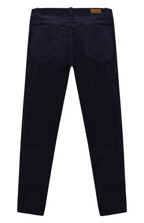 Детского вельветовые брюки POLO RALPH LAUREN темно-синего цвета, арт. 312750891 | Фото 2
