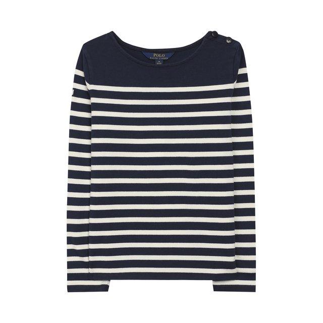 Хлопковый пуловер Polo Ralph Lauren — Хлопковый пуловер