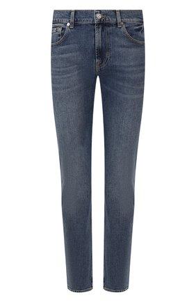 Мужские джинсы 7 FOR ALL MANKIND синего цвета, арт. JSMSL390EM | Фото 1
