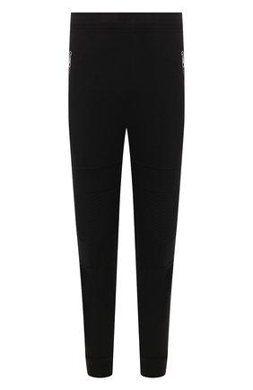 Мужской джоггеры из вискозы NEIL BARRETT черного цвета, арт. PBJP177/N513C | Фото 1