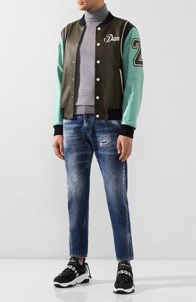 Мужские джинсы DSQUARED2 синего цвета, арт. S74LB0707/S30309 | Фото 2