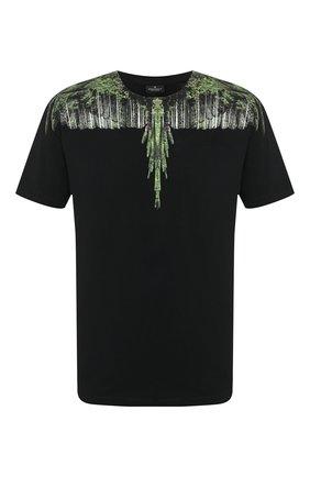 Мужская хлопковая футболка MARCELO BURLON черного цвета, арт. CMAA018R20JER019 | Фото 1