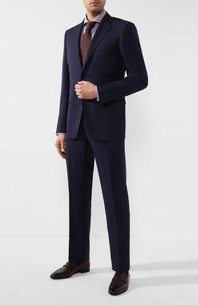 Мужские кожаные пенни-лоферы BARRETT бордового цвета, арт. 201U090.4/C0RSAR0 | Фото 2