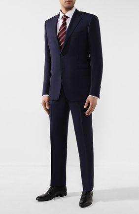 Мужские кожаные оксфорды BARRETT темно-синего цвета, арт. 112U032.20/CERV0 ASP0RTABILE | Фото 2