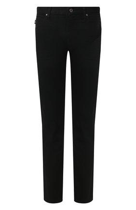 Мужские джинсы EMPORIO ARMANI черного цвета, арт. 8N1J45/1D0IZ | Фото 1