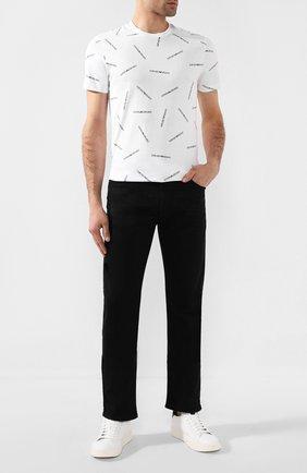 Мужские джинсы EMPORIO ARMANI черного цвета, арт. 8N1J45/1D0IZ | Фото 2
